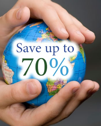 Save up to 70% on Contact Lenses