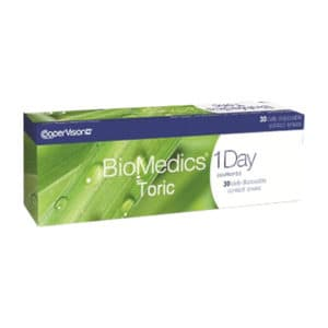 Biomedics 1 day toric