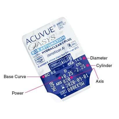 Acuvue Oasys for Astigmatism - visit ContactsForLess.ca d2b22ddacf