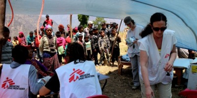 MSF teams in Nepal