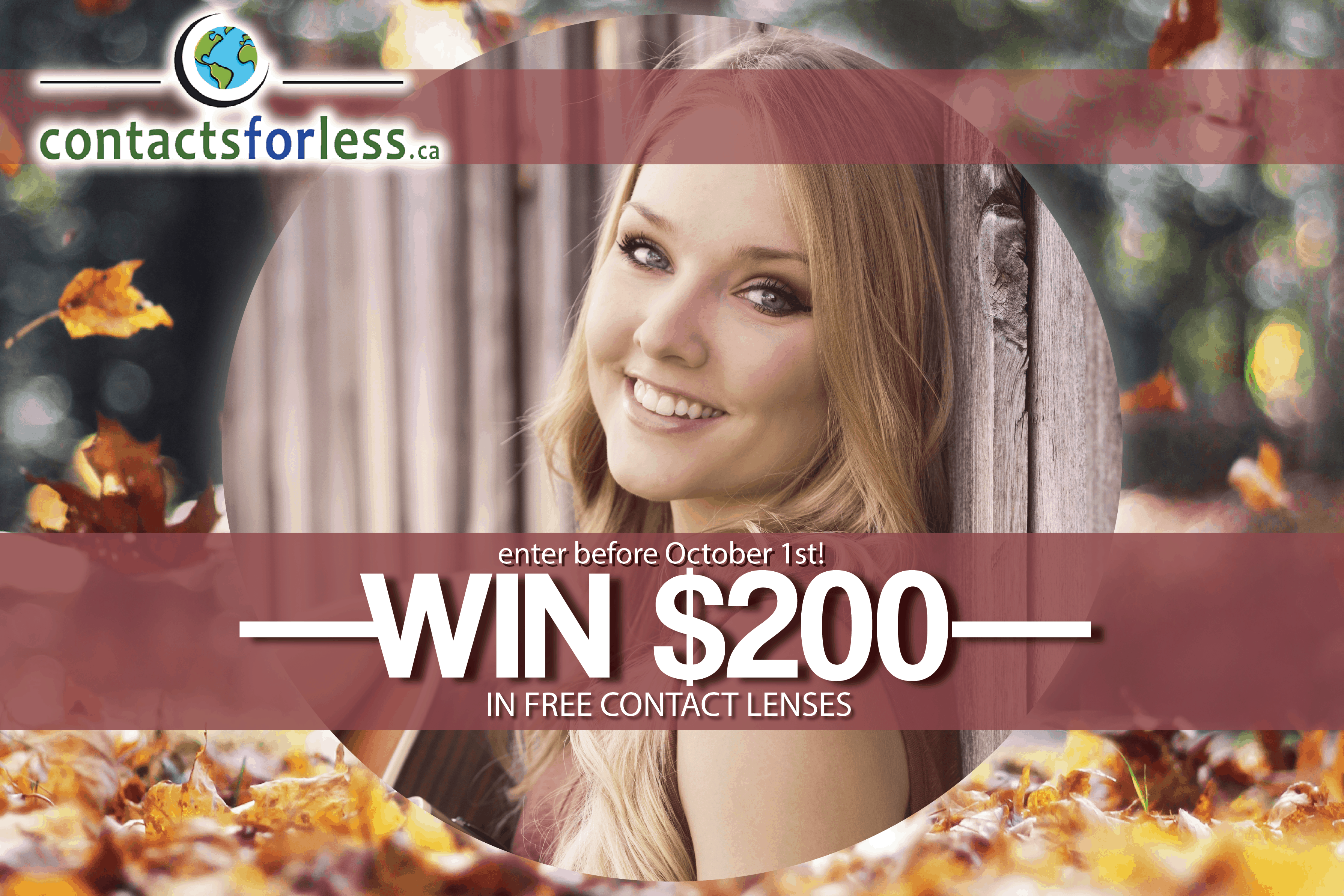 win $200 in contact lenses
