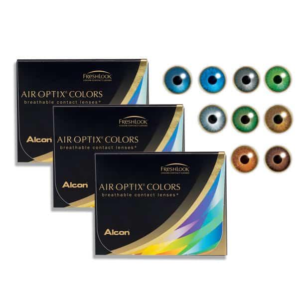 Air Optix Colors Rainbow Pack