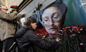Journalist Anna Politkovskaya