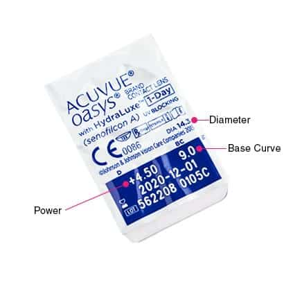 b148fdc4484 Acuvue Oasys 1-Day with Hydraluxe Contact Lenses
