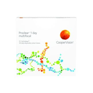 Proclear 1 day multifocal