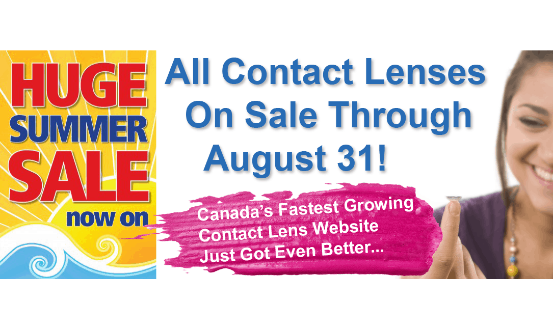 Huge Contact Lens Summer Sale