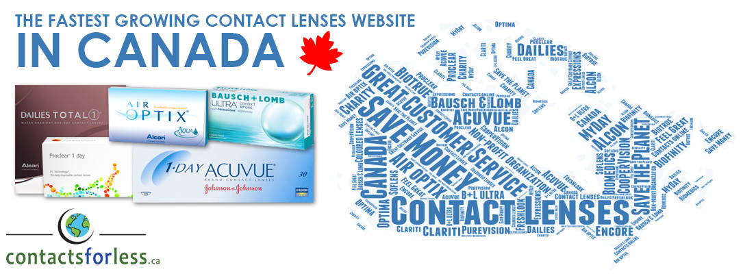 Fastest growing contact lens company in Canada