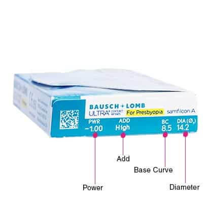 bausch lomb ultra for presbyopia contact lenses