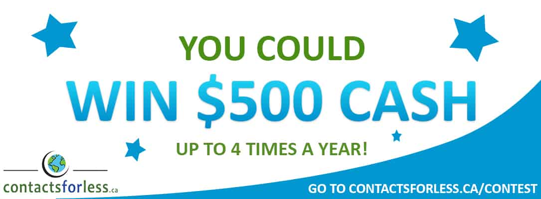 $500 in cash contest for Canada