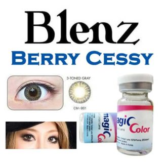 2 Pack of Berry Cessy 3 Tone Circle Colored Contact Lenses