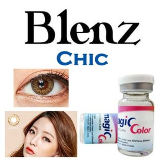 2 Pack of GEO Blenz Chic 3 Tone Colored Contact Lenses