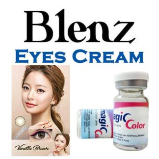 2 Pack of Blenz Vanilla Brown Coloured Circle Coloured Lenses