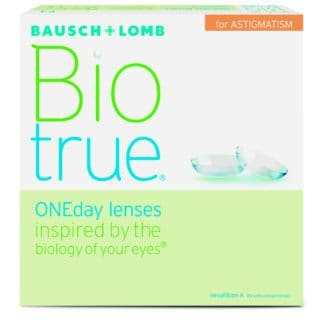 Biotrue for Astigmatism contacts online