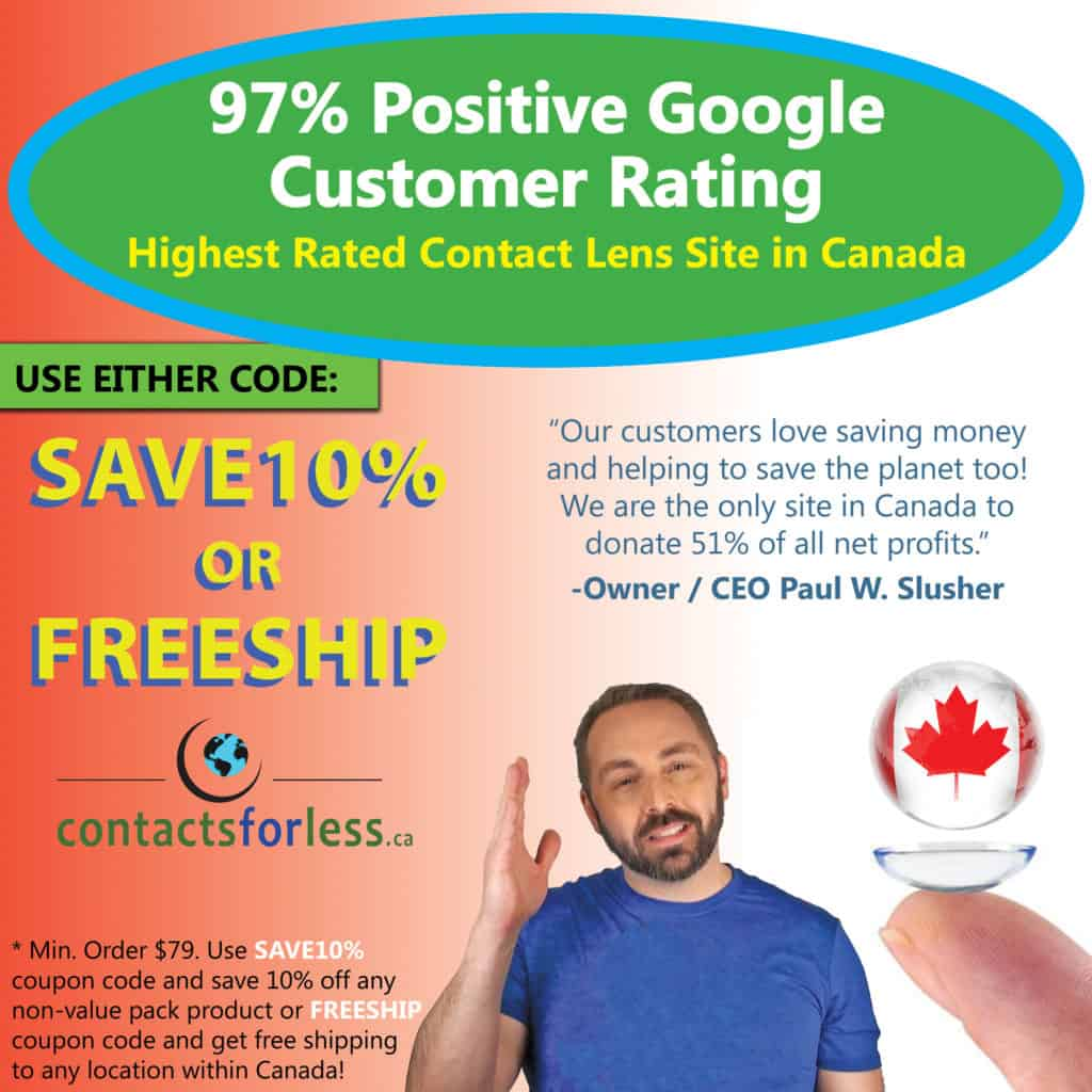 Canada online contact lens coupons