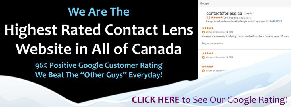 Highest Rated Contact Lens Site
