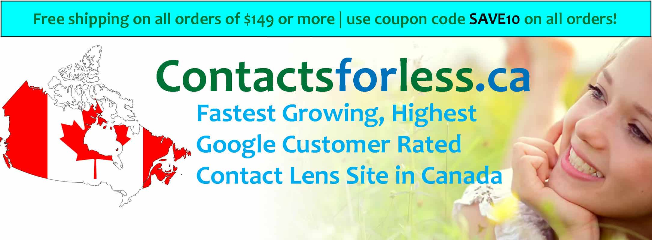 Best, cheapest contact lens site in Canada